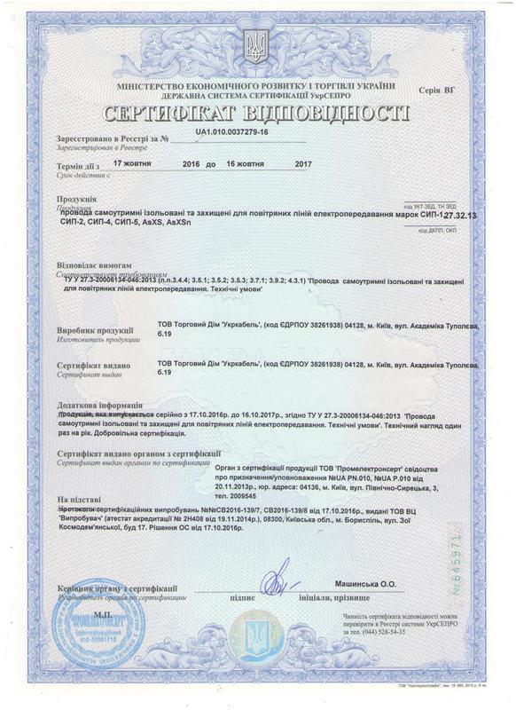 Производство кабеля Укркабель